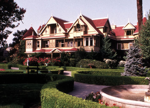 Santa Clara Winchester's Mystery House at California