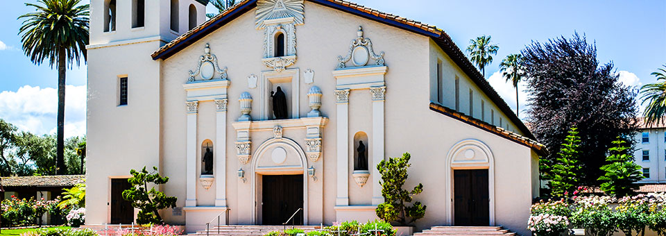 Where is Santa Clara University located?