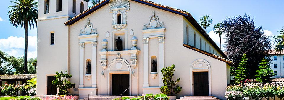 Where is Santa Clara University located?